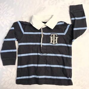 Tommy Hilfiger Baby Boys Rugby Polo Shirt Size 18M